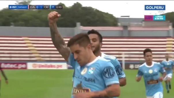 Así fue el gol de Alejandro Hohberg en el Sporting Cristal vs Cusco FC