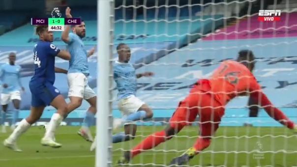 Manchester City vs Chelsea: así fue el gol de Sterling