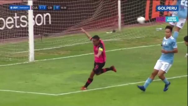 Así fue el gol de Alfredo Ramúa en el Sporting Cristal vs Cusco FC