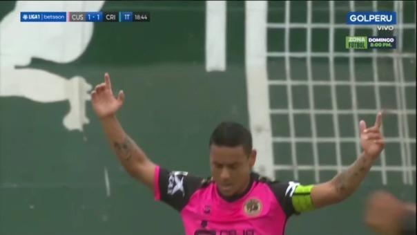 Así fue el gol de Alfredo Ramúa