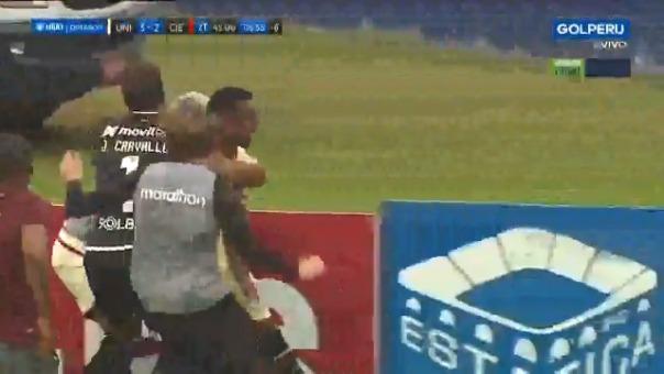 Alberto Quintero marcó el definitivo 3-2 ante Cienciano