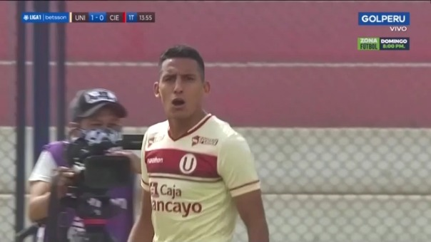 Universitario vs. Cienciano: así fue el gol de Valera