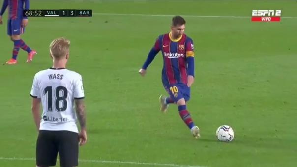 Lionel Messi es el máximo goleador de LaLiga actual