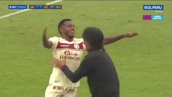 Alberto Quintero estableció el 2-1 a favor de Universitario