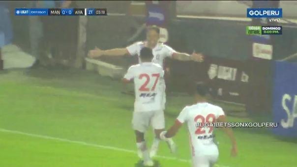Ayacucho FC vs Carlos A. Mannucci: Pablo Lavandeira marcó un golazo