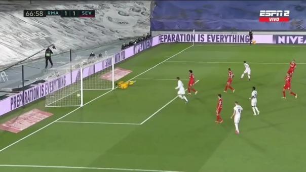 Real Madrid 1-1 Sevilla: así fue el gol de ASensio