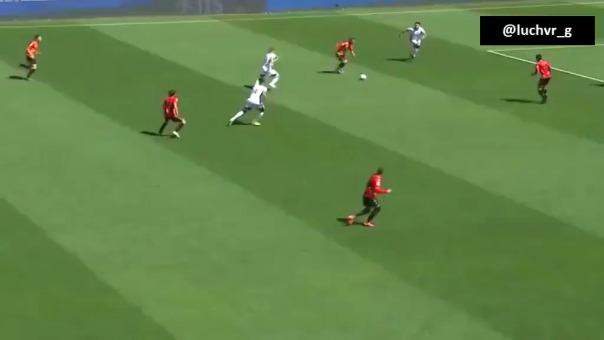 Gol de Gianluca Lapadula