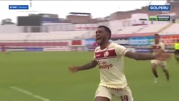 El gol que hizo gritar a todos los hinchas de Universitario ante Cienciano