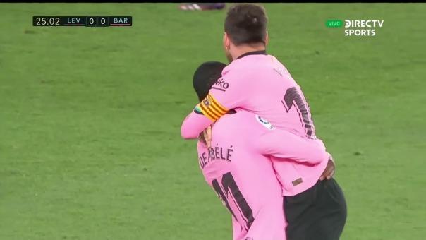 Levante 0-1 Barcelona: así fue el gol de Lionel Messi