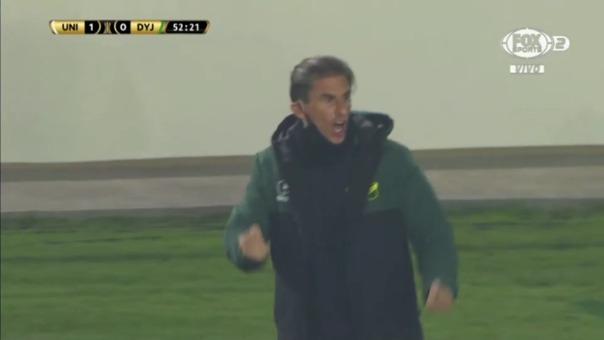 Universitario 1-1 Defensa y Justicia: así fue el gol de Braian Romero