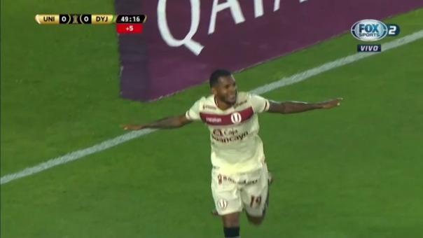Universitario 1-0 Defensa y Justicia: así fue el gol de Alberto Quintero