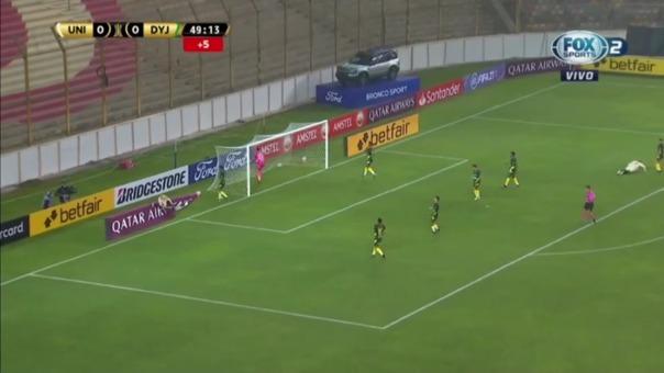 Universitario 1-1 Defensa y Justicia: así fue el gol de Alberto Quintero