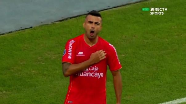 Liliu es el goleador de Sport Huancayo en la Copa Sudamericana 2021