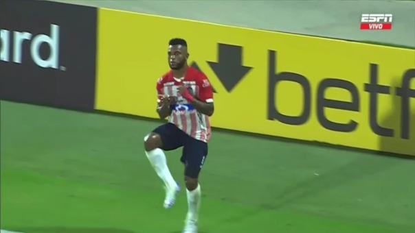 Junior 1-0  River Plate: así fue el gol de Miguel Borja