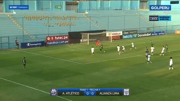 Alianza Lima ante el Sullana.
