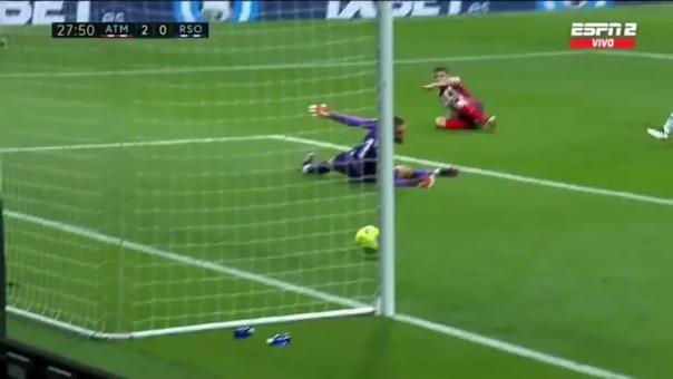 Atlético de Madrid vs. Real Sociedad: así fueron los goles de los colchoneros
