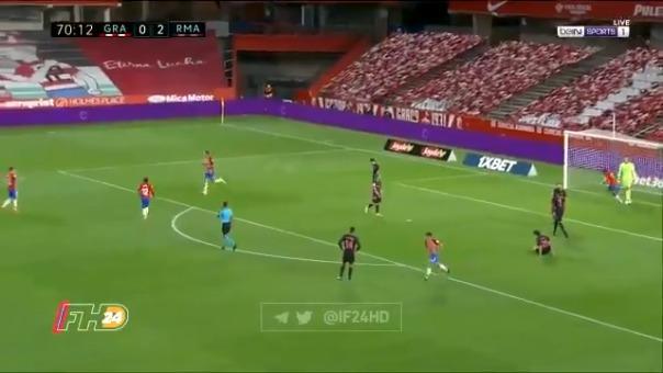 Gol de Jorge Molina para el 1-2 ante Real Madrid