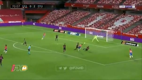 Jorge Molina marcó el descuento ante el Real Madrid