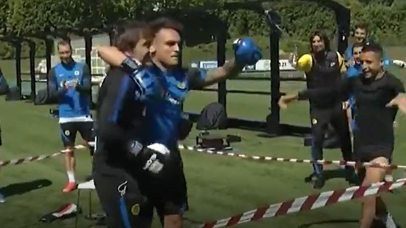 Así fue la 'pelea' entre Lautaro Martínez y Antonio Conte.