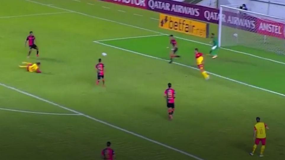 El empate del Aucas ante Melgar en la altura de Quito.