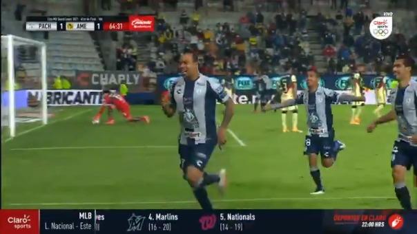 Golazo de Felipe Pardo para el 2-1 ante América