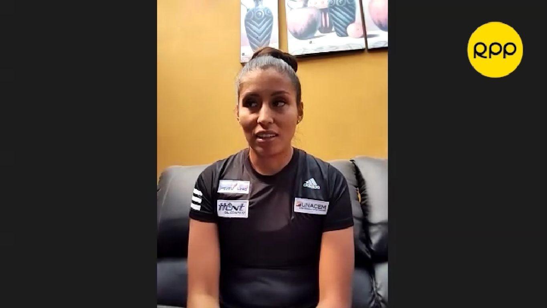 Kimberly García cuenta cómo cambio su entrenamiento por la pandemia.