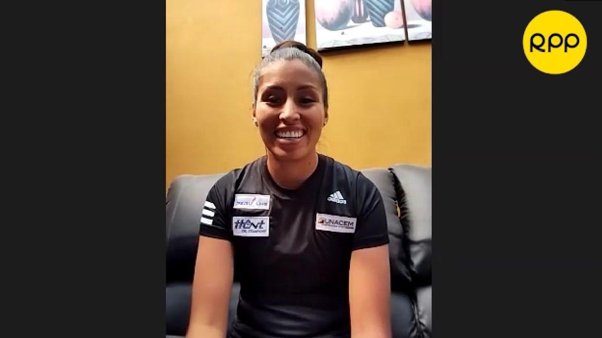 Kimberly García cuenta cómo se siente físicamente.