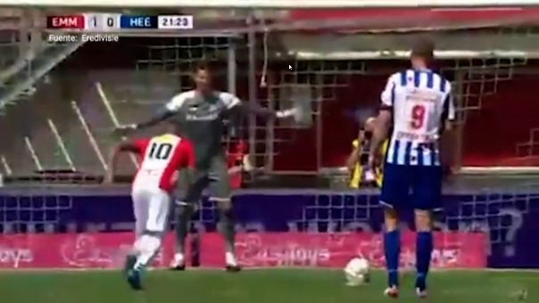 Gol de Sergio Peña.