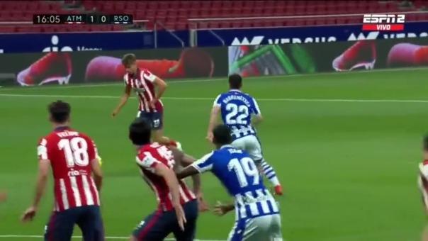 Atlético de Madrid venció en su último partido a Real Sociedad