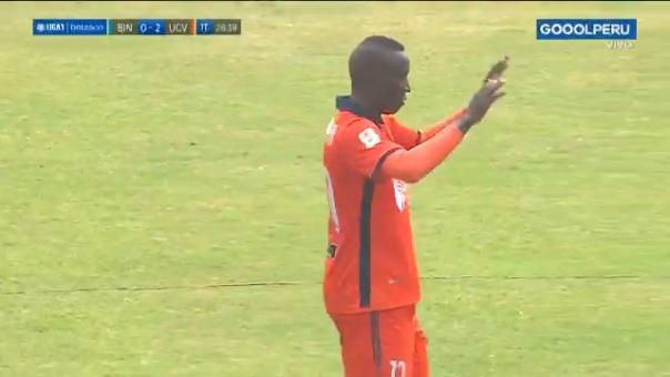 Yorleys Mena convirtió el 0-2 de César Vallejo