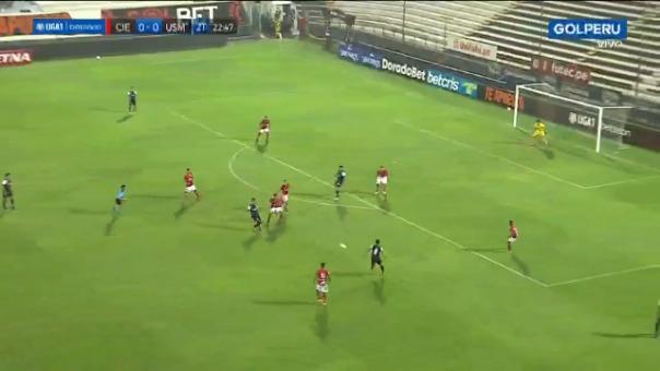 Carlos Monge puso el 1-0 de San Martín ante Cienciano