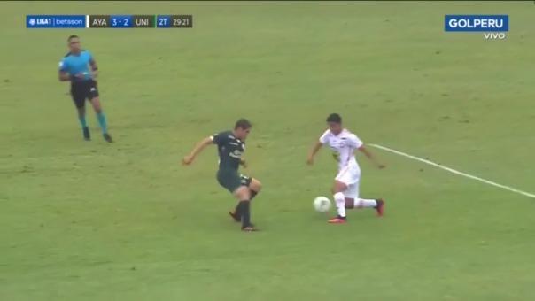 Othoniel Arce puso el 3-2 de los 'zorros' ante la 'U'