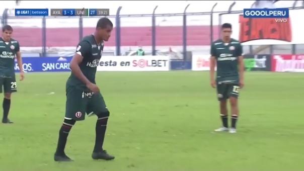 Nelinho Quina anotó el 3-3 de Universitario ante Ayacucho