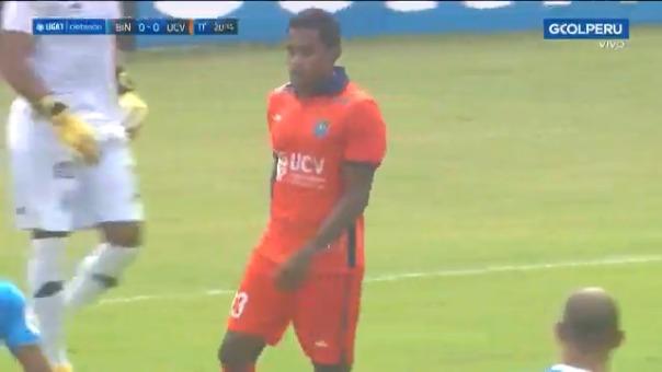 Jersson Vásquez anotó el 1-0 de Vallejo ante Binacional