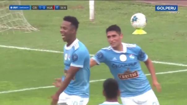 Sporting Cristal vs Sport Huancayo: así fue el gol de Nilson Loyola