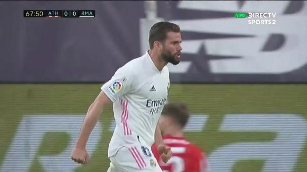 Real Madrid 1-0 Athletic Bilbao: así fue el gol de Nacho