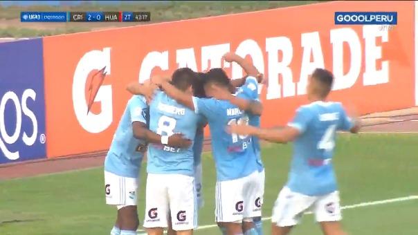 Martín Távara puso el 2-0 de Sporting Cristal ante Sport Huancayo