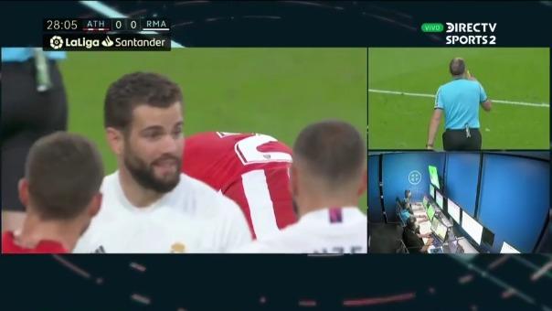 Mano de jugador de Athletic de Bilbao.
