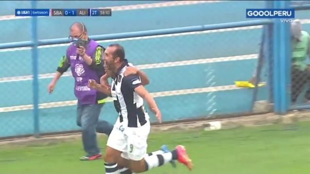 Alianza Lima 2-0 Sport Boys: así fue el gol de Hernán Barcos