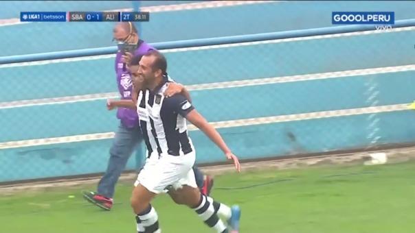 Así fue el gol de Hernán Barcos