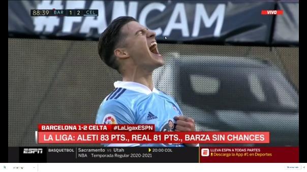 Gol del triunfo de Celta.
