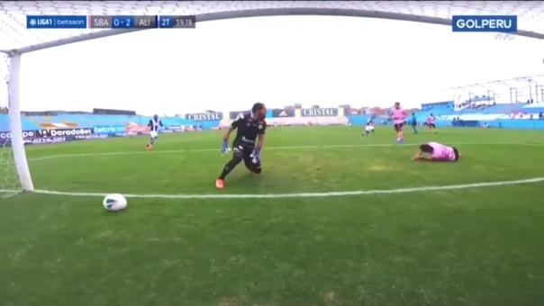 Gol de Hernán Barcos