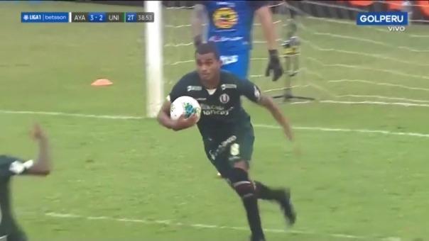 El último gol de Universitario en la Liga 1