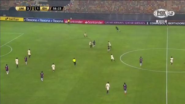 'Titi' Ortíz anotó el 2-2 de IDV ante Universitario de Deportes