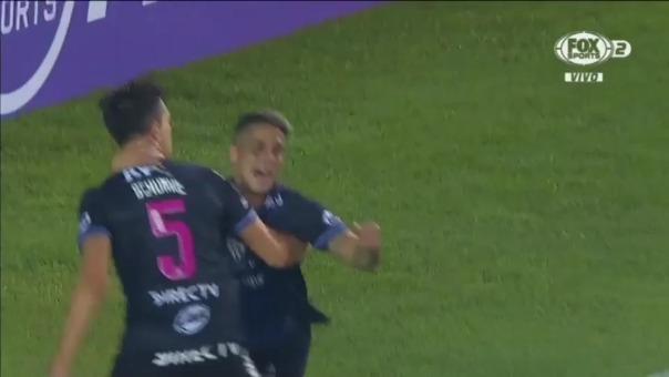 Cristian 'Titi' Ortiz convirtió el 2-2 de Independiente frente a la 'U'