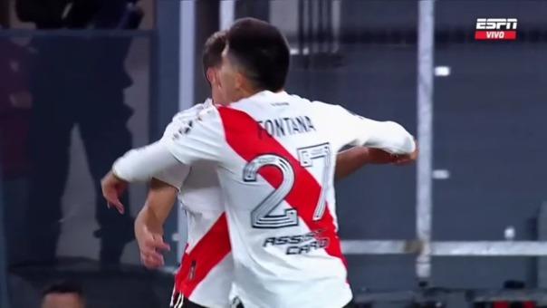 River Plate 2-0 Santa Fe: así fue el gol de Julián Álvarez