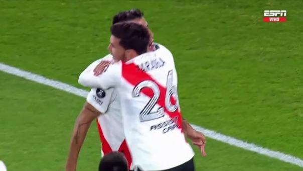 River Plate 1-0 Santa Fe: así fue el gol de Fabrizio Angilieri
