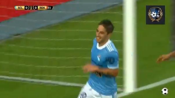 Alejandro Hohberg marcó el 1-0 de Sporting Cristal ante Rentistas
