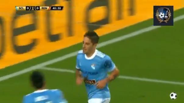 Alejandro Hohberg anotó el 1-0 de Sporting Cristal ante Rentistas