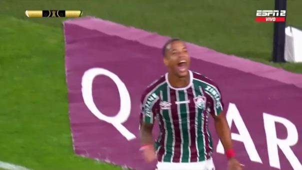River Plate vs Fluminense: así fueron los dos primeros goles de Caio Paulista y Fred